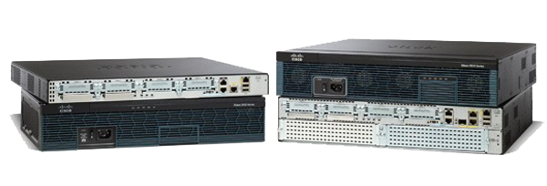 Figure 1.  Cisco 2900 Series Integrated Services Routers