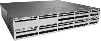 Figure 3.  Cisco Catalyst 3850 Series Switches with 12 and 24 1 Gigabit Ethernet SFP ports