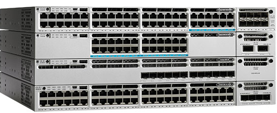 Figure 1.  Cisco Catalyst 3850 Series Switches