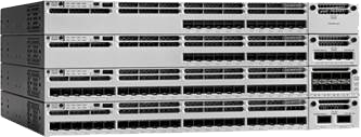 Figure 2.  Cisco Catalyst 3850 Series Switches with 12 and 24 1/10 Gigabit Ethernet SFP+ ports