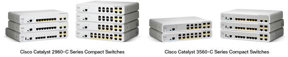 Figure 1.  Cisco Catalyst Compact Switches
