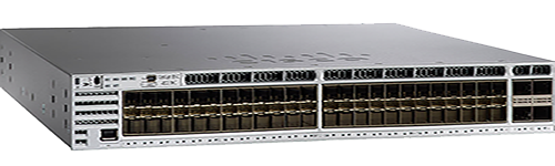 Figure 4.  Cisco Catalyst 3850 Series Switches with 10 Gigabit Ethernet 48 ports
