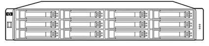 (HPE MSA 2040 Storage (LFF