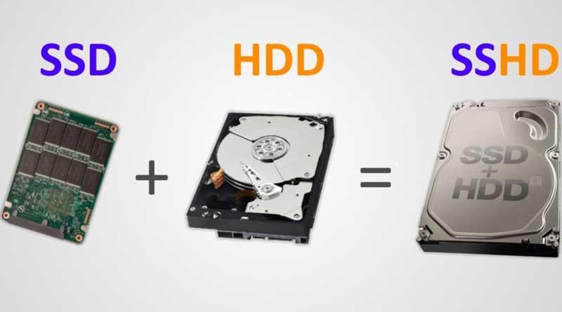 درایوهای HDD و SSD